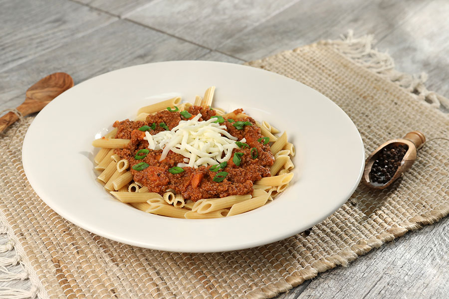 Beefy Bolognese Penne Pasta