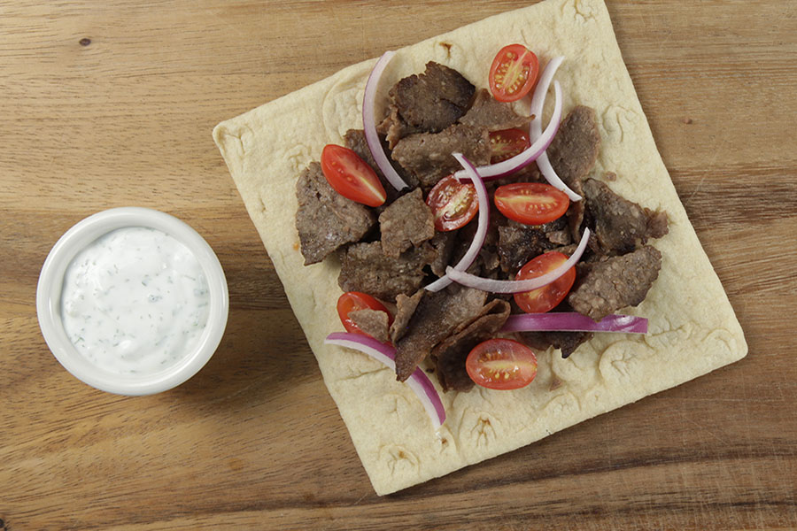 Gyro Philly Beef Flatbread