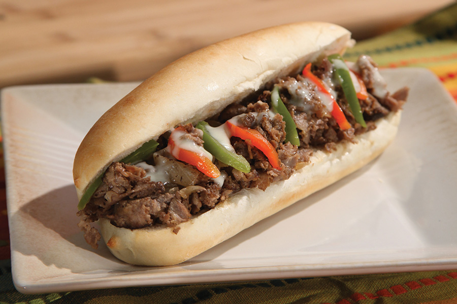 Southwest Philly Cheesesteak
