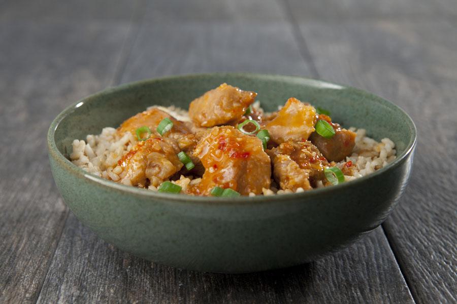 Thai Turkey Rice Bowl